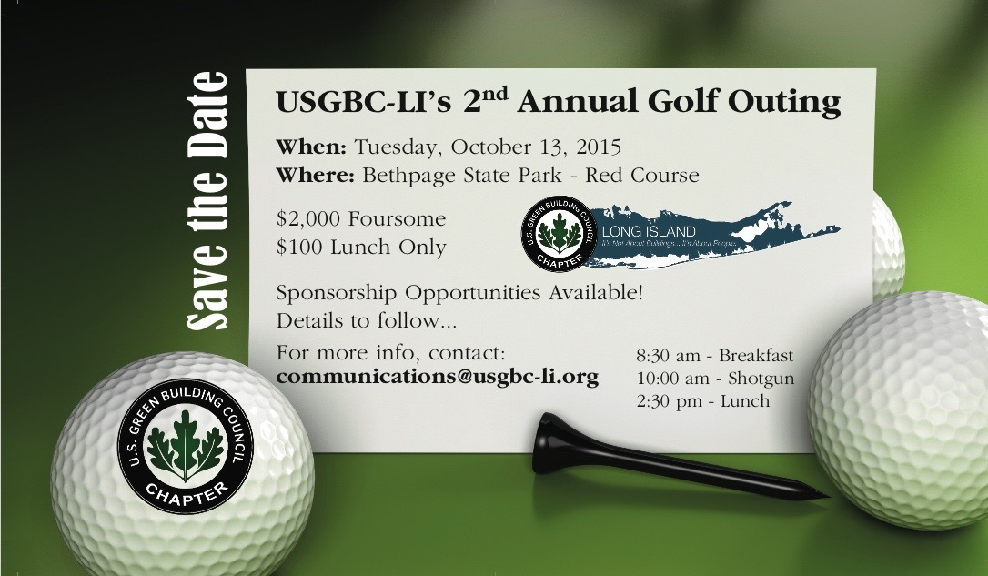 USGBC-LI 2015 Golf Outing