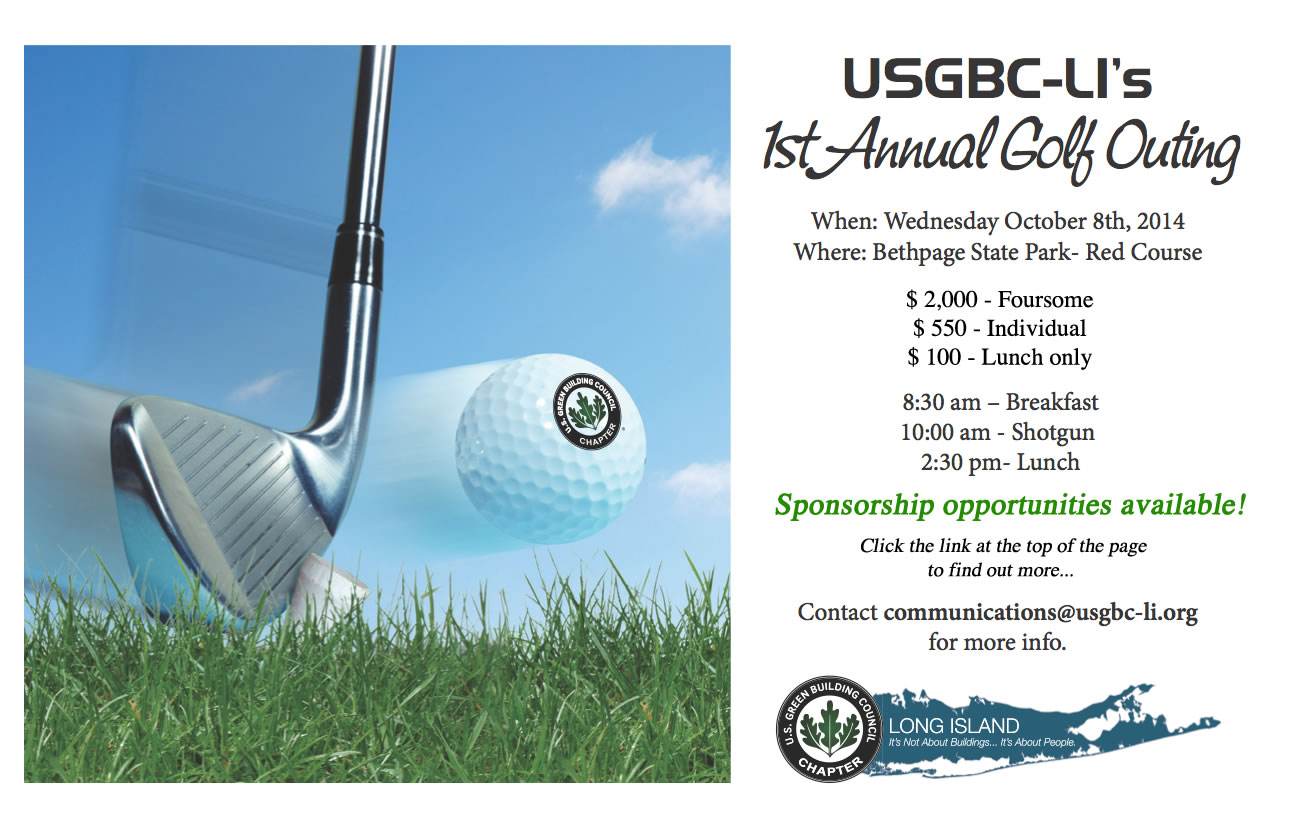 USGBC First Annual Golf Outing